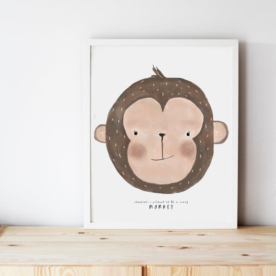 Image of MONKEY ILLUSTRATION