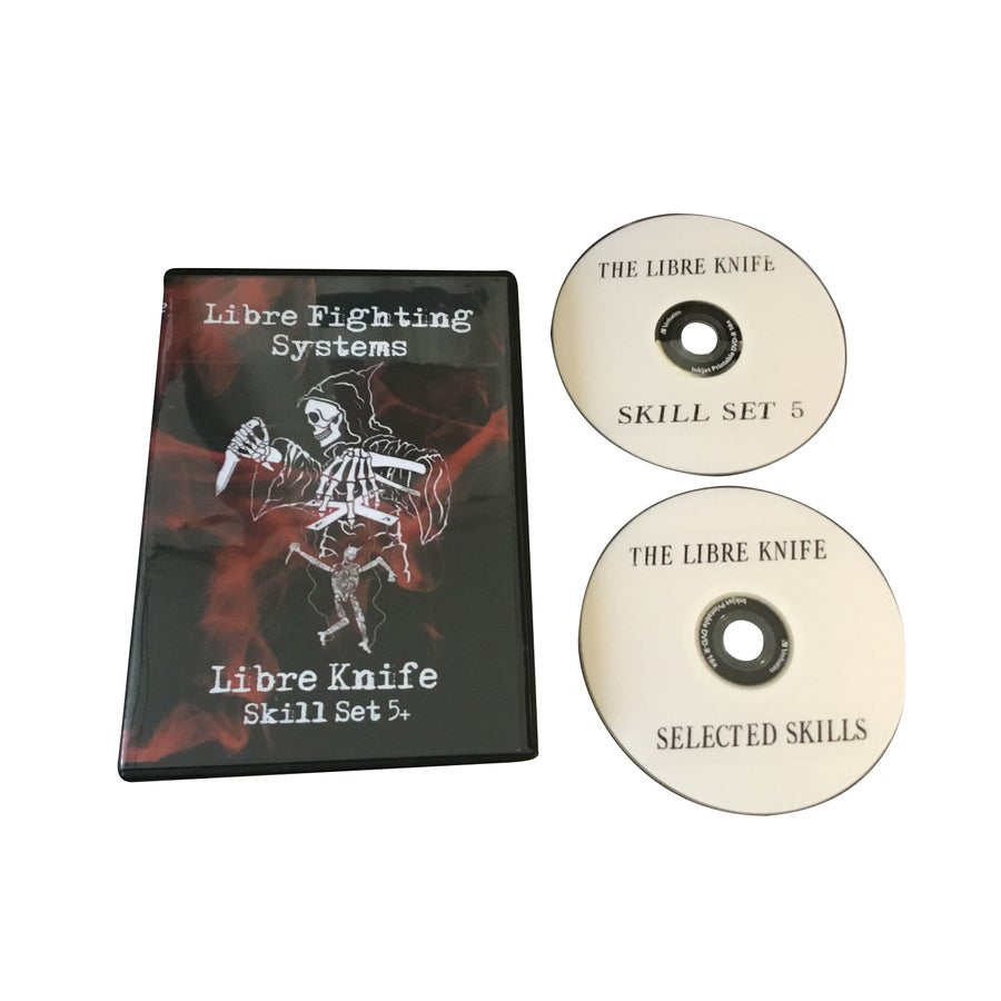 Image of The Libre Knife: Skill Set  & Selected Skills Two Disc DVD Set