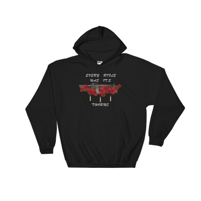 Image of ROSES N THORNS WOMEN'S HOODIE