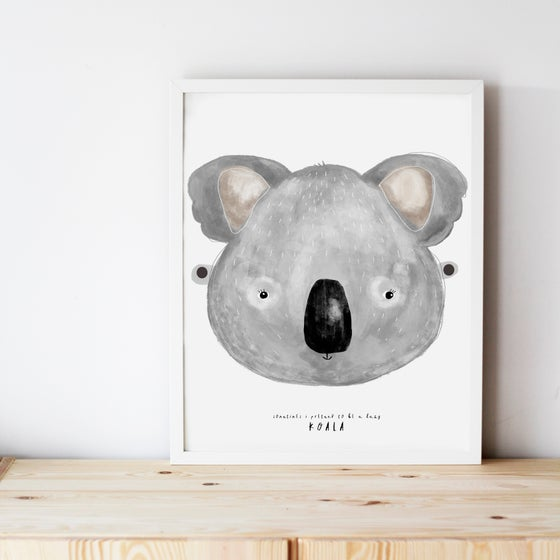 Image of KOALA ILLUSTRATION