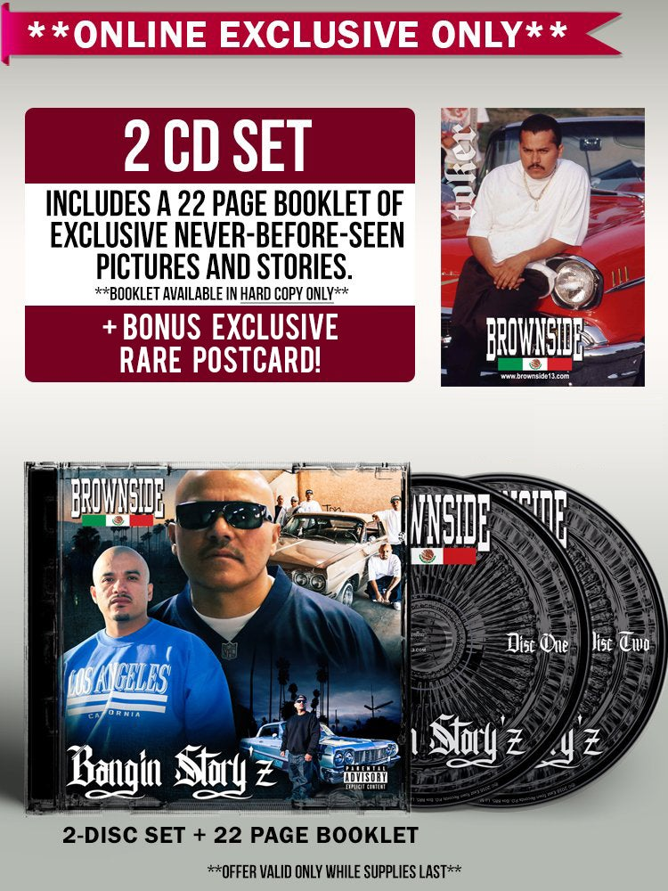 Image of Brownside - Bangin Story'z 2CD [EXCLUSIVE EDITION]