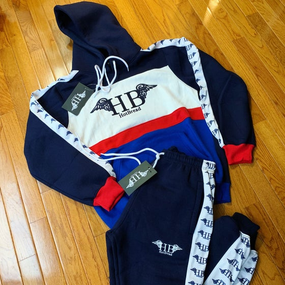 Image of HotBread patriot Logo track suit