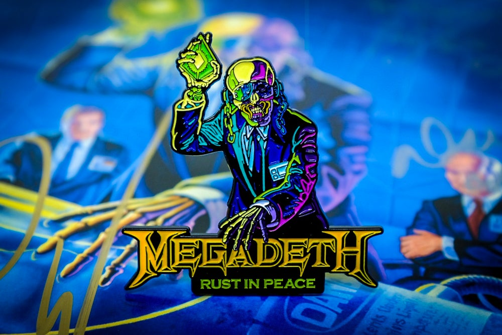 Megadeth - Rust in Peace Enamel Pin