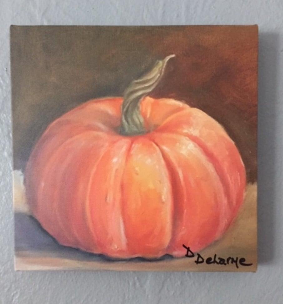Image of DD035 Reprint 8x8 Autumal Pumpkin
