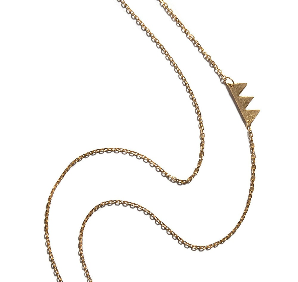 Image of 14k Classic Teeth Necklace