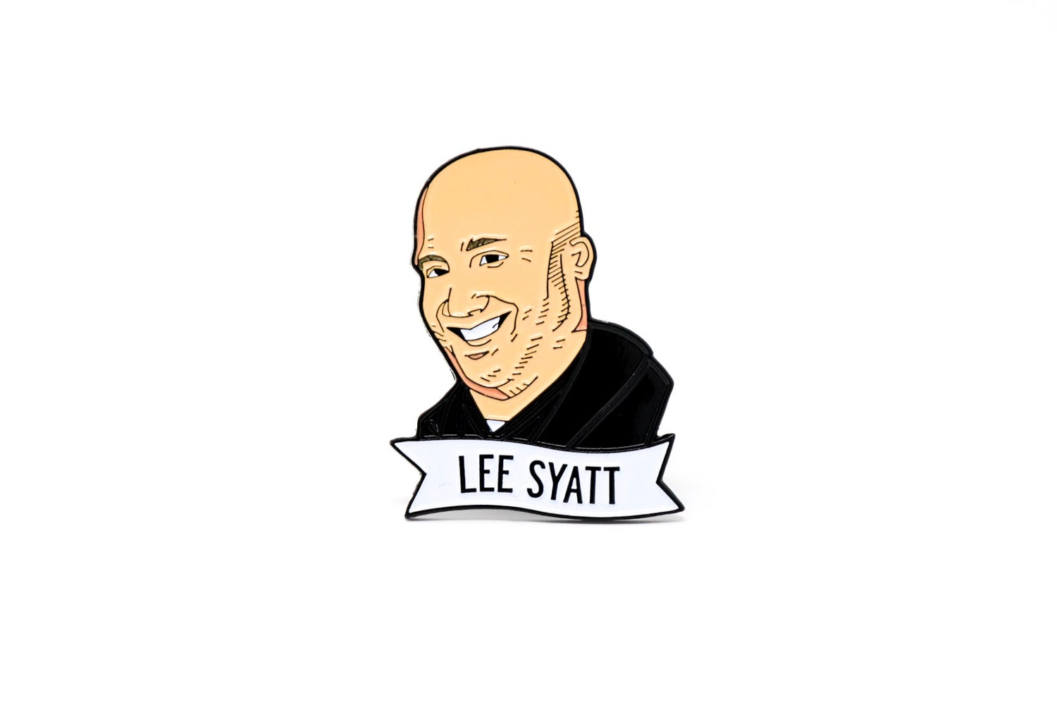 Image of Lee Syatt Enamel Pin