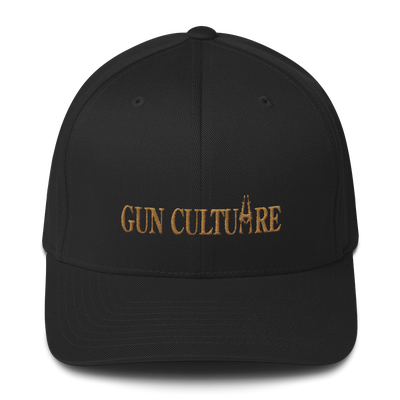 Image of GUN CULTUARE GOLD FLEX FIT HAT