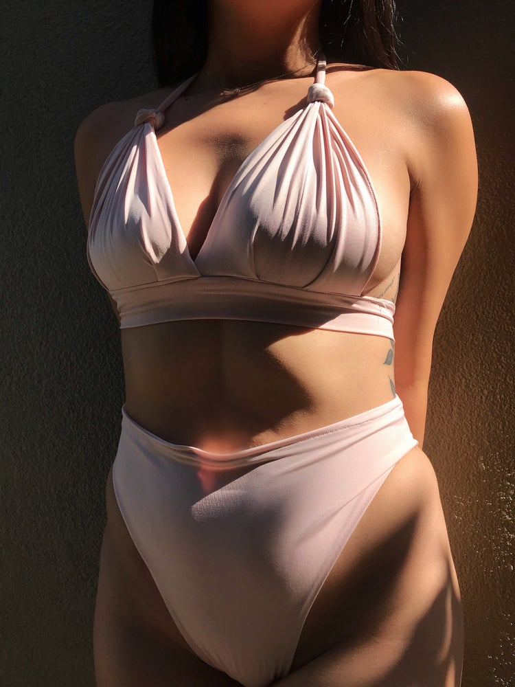 Image of BRA TOP w/ HIGH CUT BOTTOMS