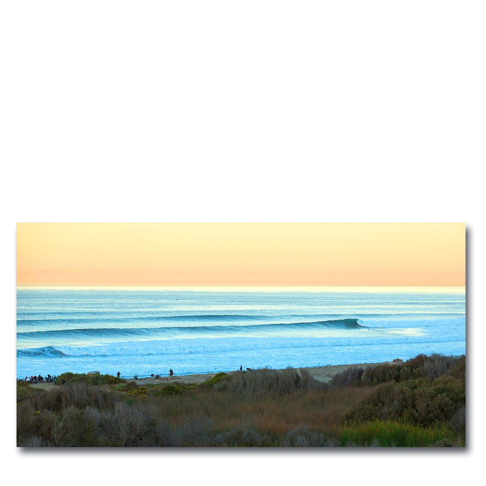 Image of  TRESTLES DAWN - (Metal or Canvas)