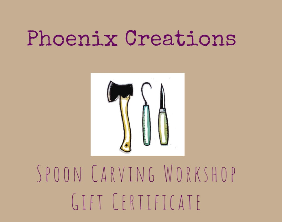Image of Spooncarving Workshop Gift Certificate
