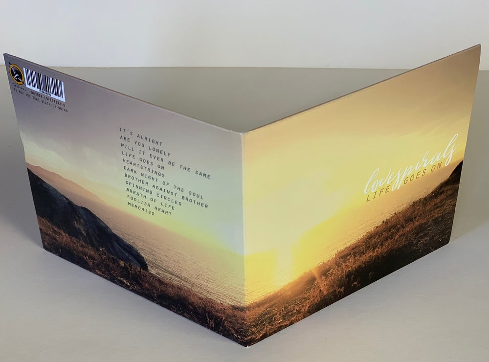 Image of Lovespirals 'Life Goes On' CD