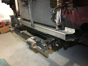 Image of Nissan Xterra and Frontier  Stainless Lower Tie Bar / Radiator Support