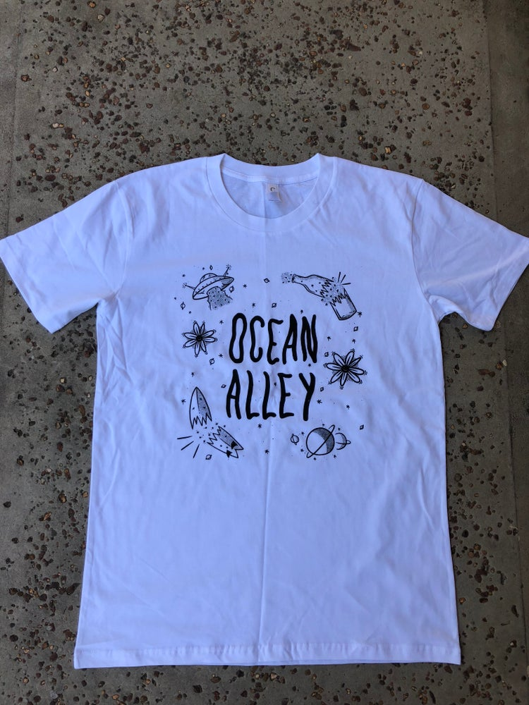 Image of Galaxy Tee- White