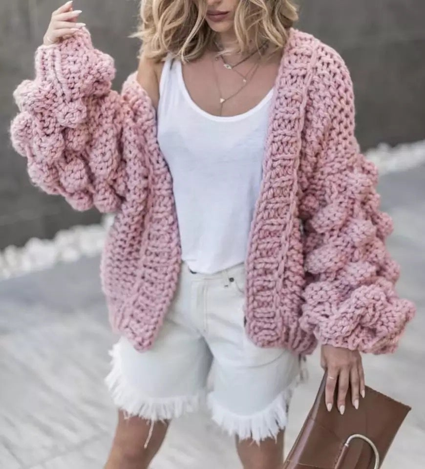Image of Pre order your Puff-puff cardigan