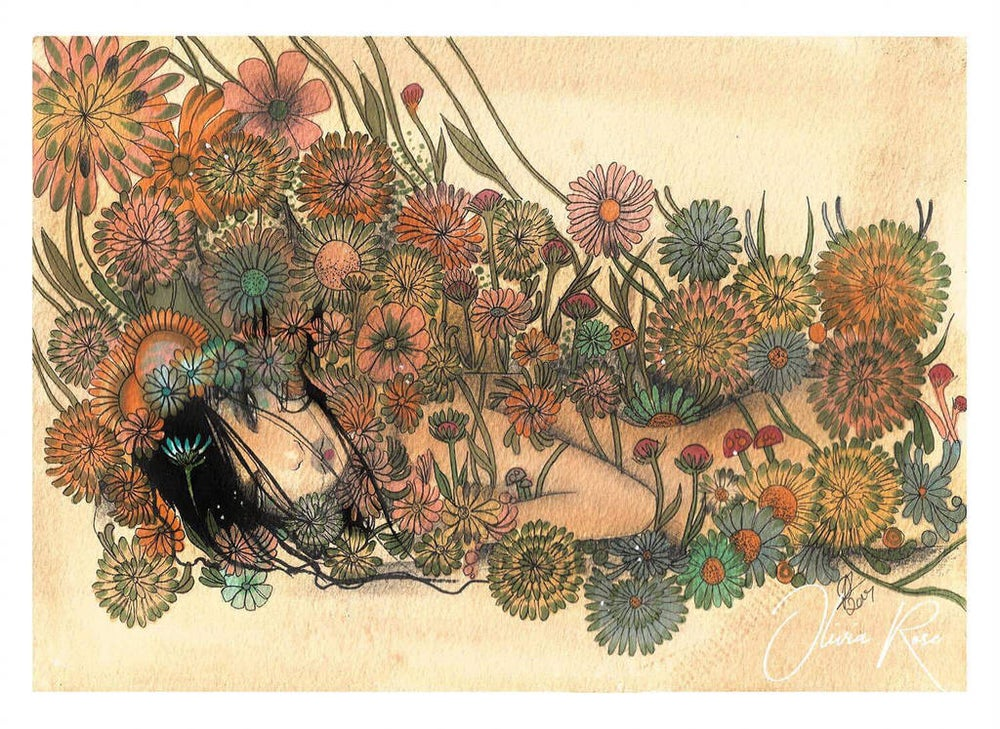 Image of In bloom print