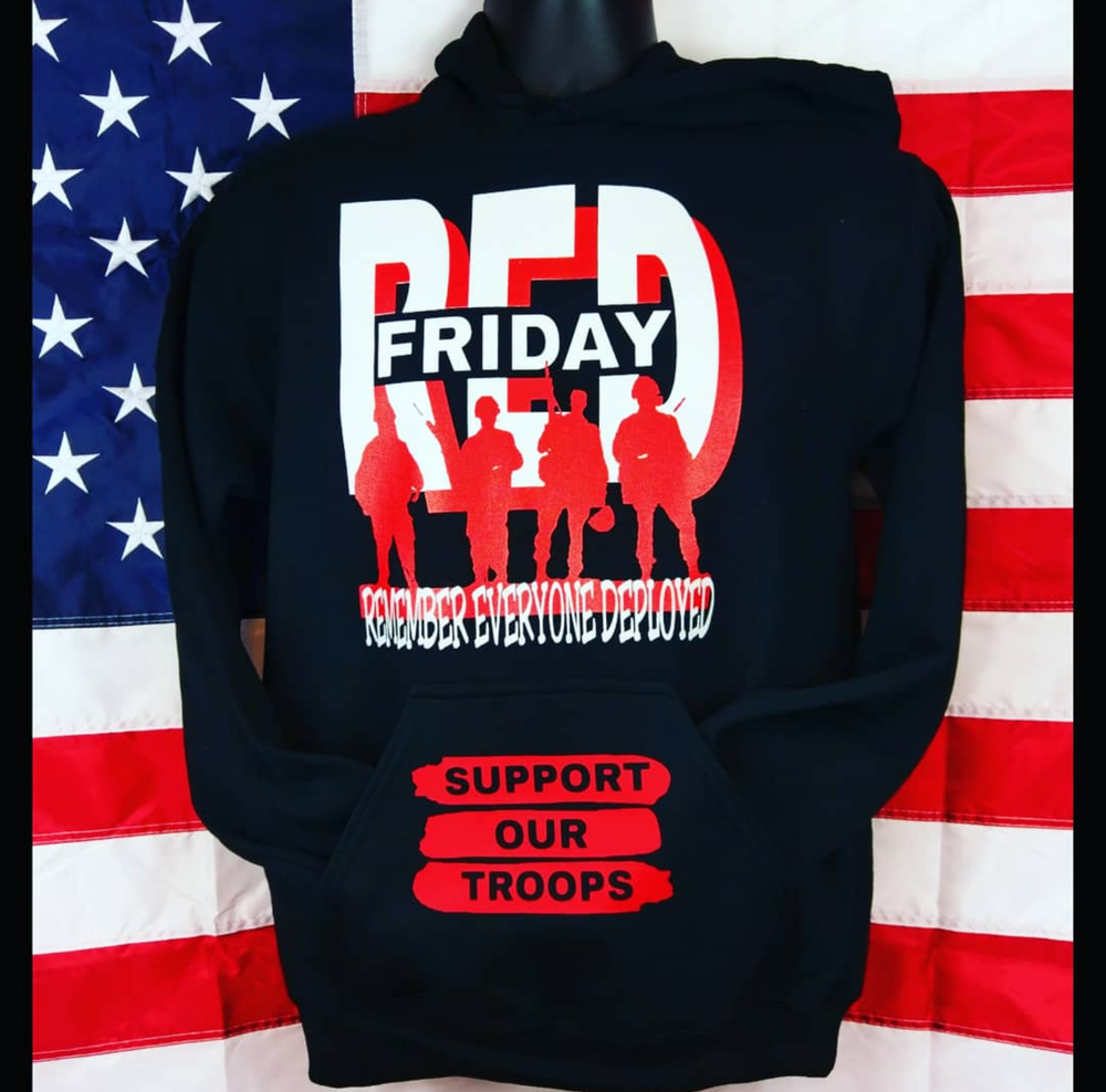 Image of R.E.D. Friday Logo Hoodie