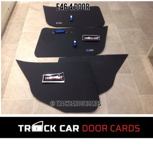 Image of BMW e46 - 4 Door - Track Car Door Cards