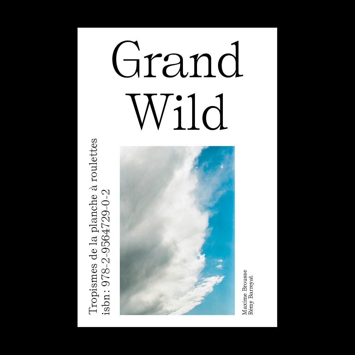 Image of Grand Wild #1 : Tropismes de la planche à roulettes