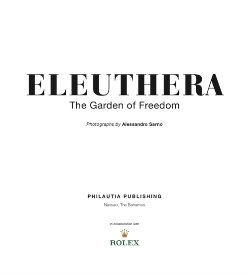 Image of ELEUTHERA - The Garden of Freedom