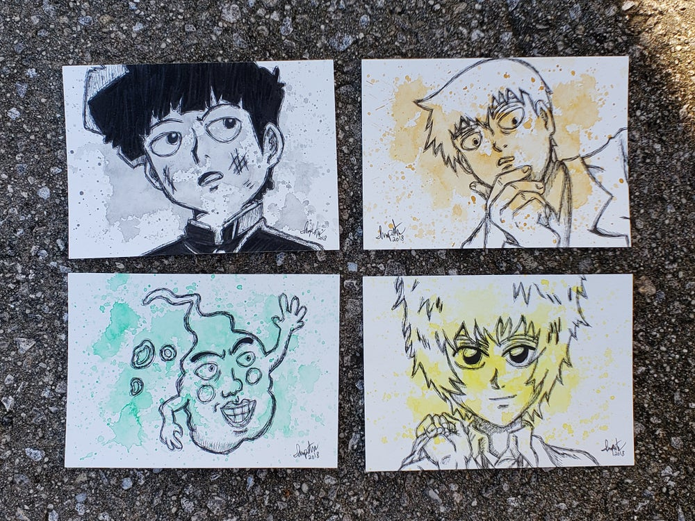 Image of Mob Psycho 100 Character Set