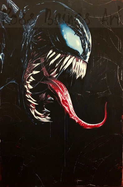 Image of VENOM (3x2ft canvas print)