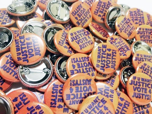 "Image of Custom 1.25"" Round pin back buttons"