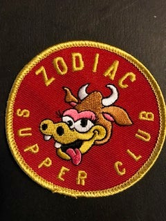 Image of Zodiac Supper Club Patch