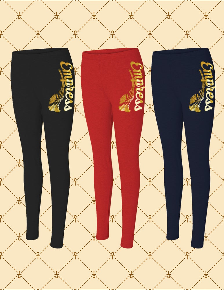 Image of EMPRESS SPANDEX JERSEY LEGGINGS