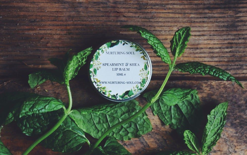 Image of Spearmint & Shea Butter Lip Balm