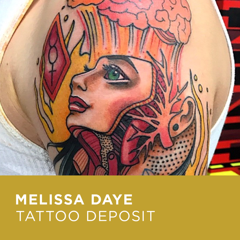 Image of Tattoo Deposit for Melissa Daye
