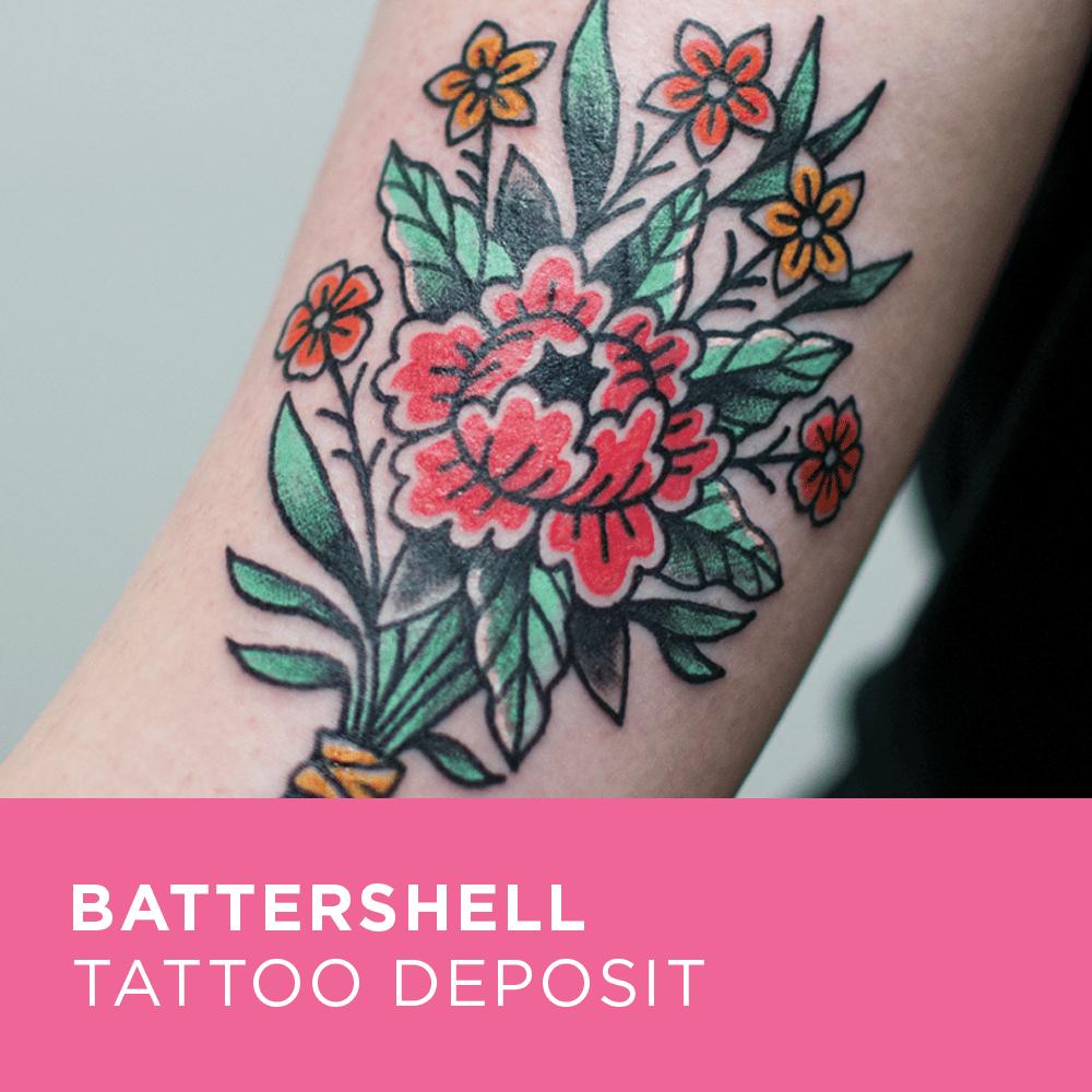 Image of Tattoo Deposit for Battershell