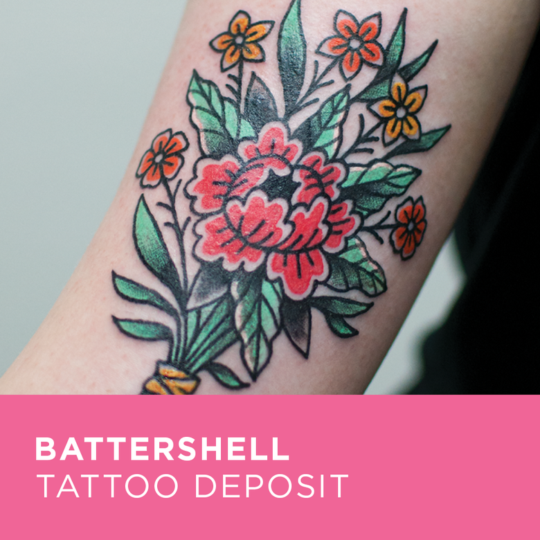 Image of Tattoo Deposit for Battershell