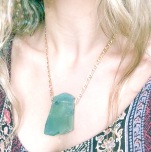 Image of Forest Necklace - Peruvian Opal - version 3