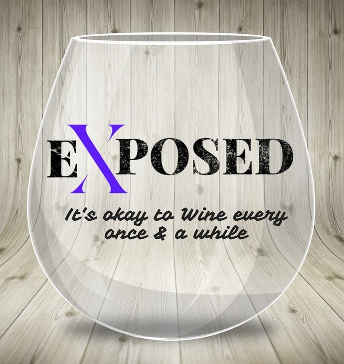 Image of Exposed Wine Glass