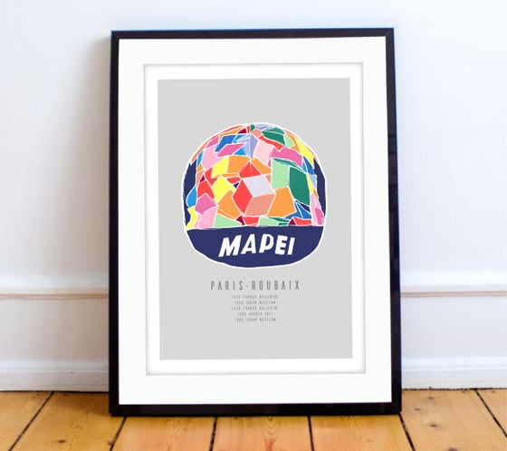 Image of Mapei cap print - A4 or A3