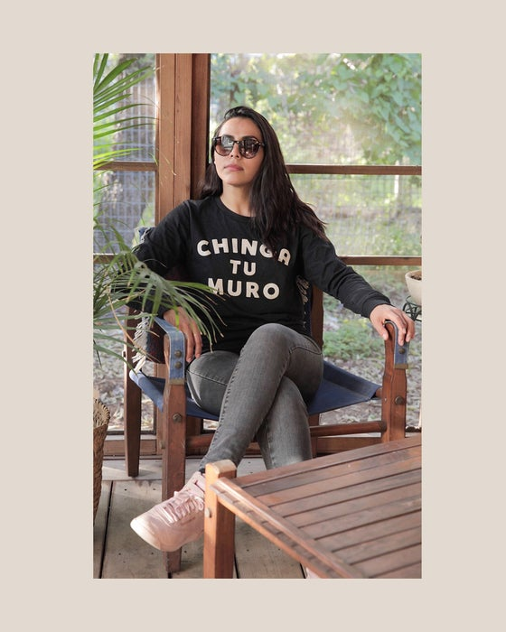 Image of Chinga Tu Muro FYW18 long sleeve
