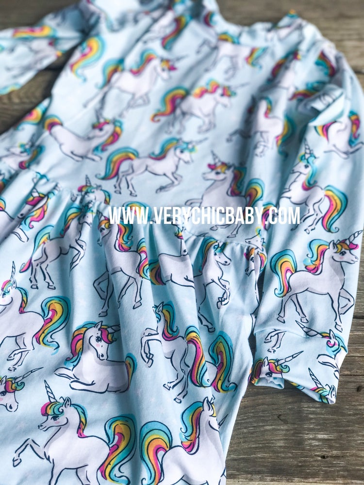 Image of Unicorn Deluxe Knit Dress