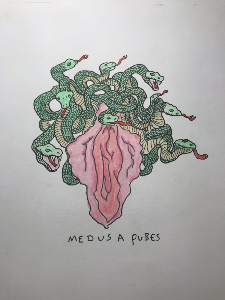 Image of Medusa Pubes