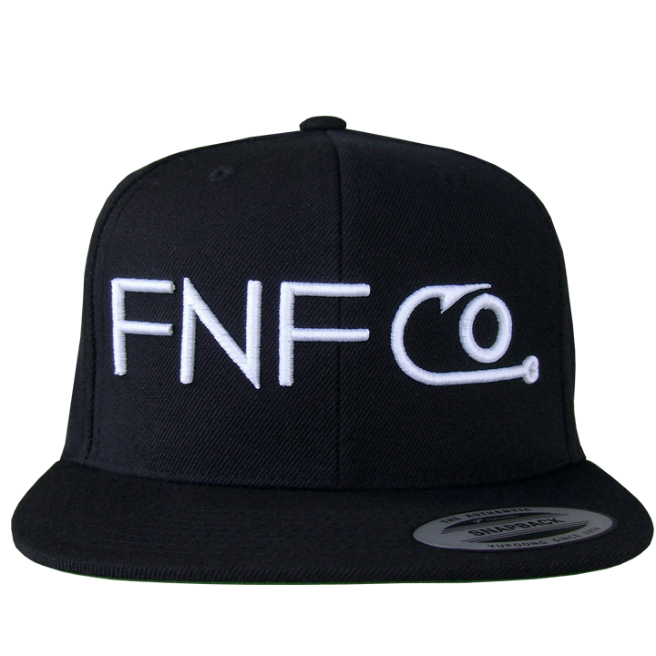 Image of FNF CO. Hook Snap Back (black)