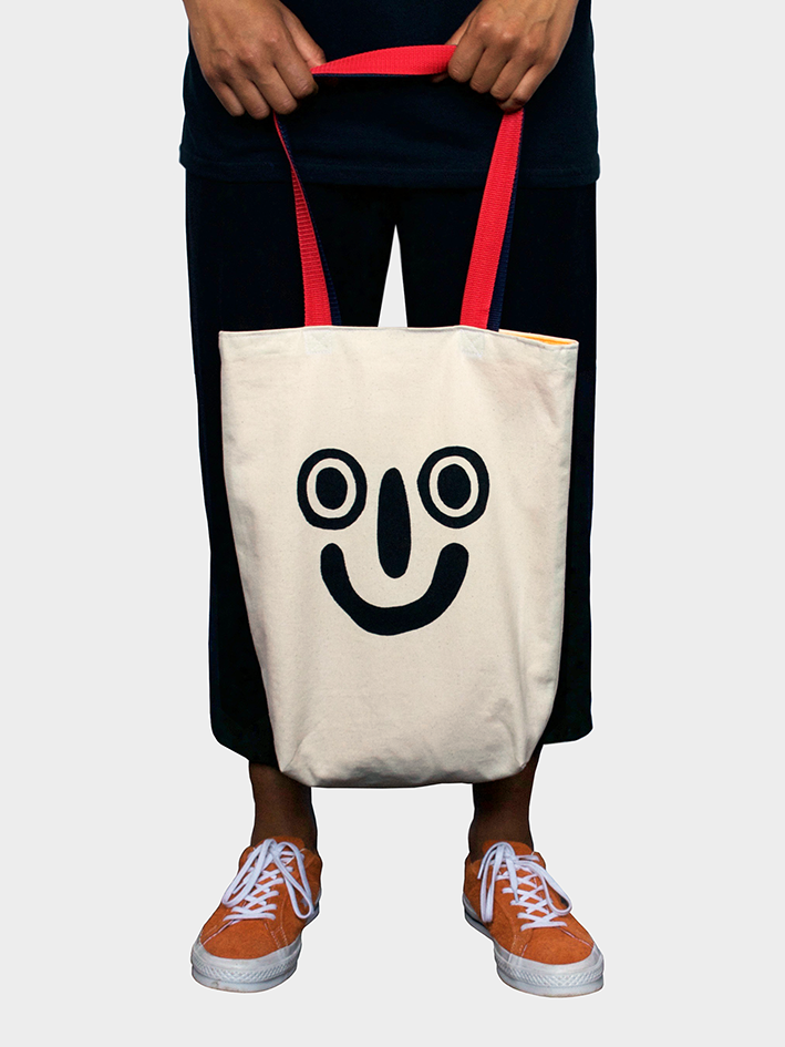 Image of 'Smiley' Tote Bag