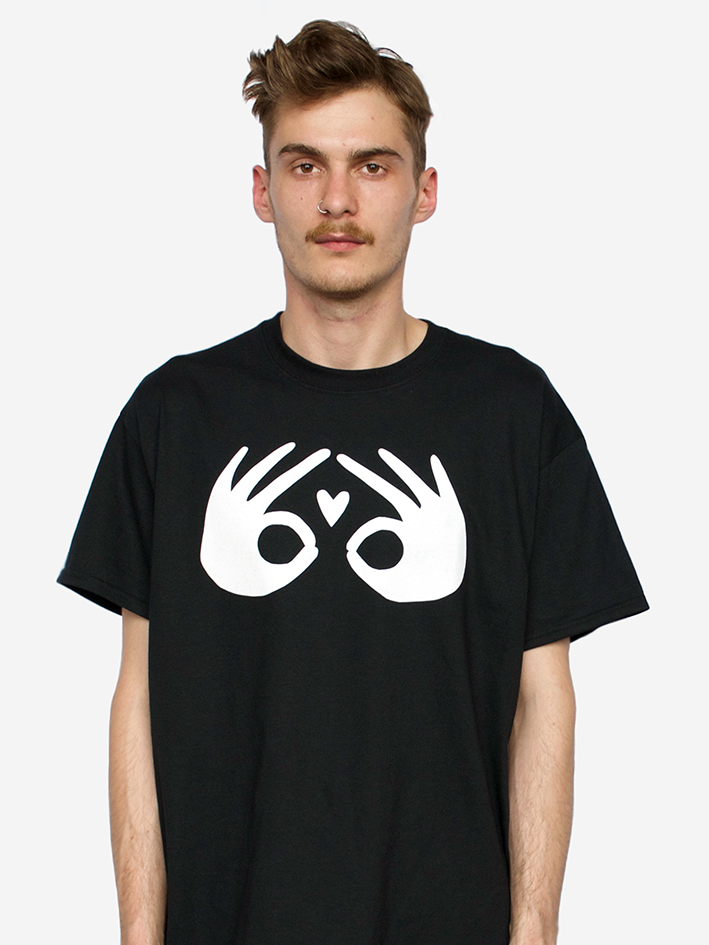 Image of 'Plush' Tee - Black