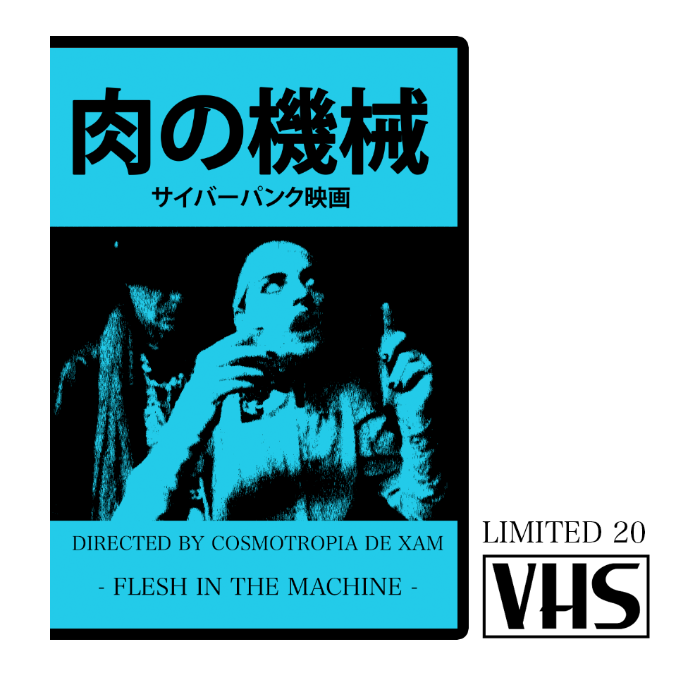 Image of FLESH IN THE MACHINE - LIMITED 20 VHS (Japan Design) + DVD