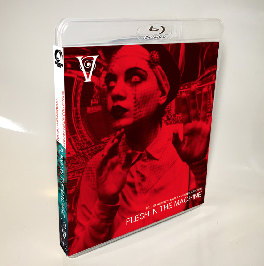 Image of FLESH IN THE MACHINE - LIMITED 50 SIGNED/STAMPED BLU-RAY-R + DVD (DESIGN B)