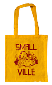 Image of Smallville Bag- Logo Print- Yellow / red
