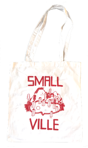 Image of Smallville Bag- Logo Print- white / red