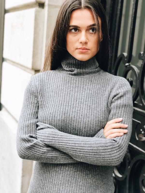 Pull Amélia col roulé en cachemire 135€ -50% - Maison Brunet Paris