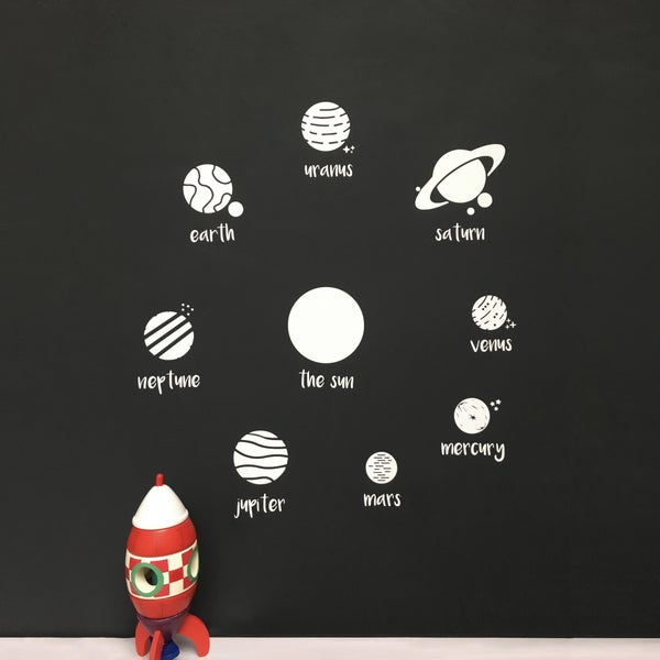 Image of Solar System Wall Decal