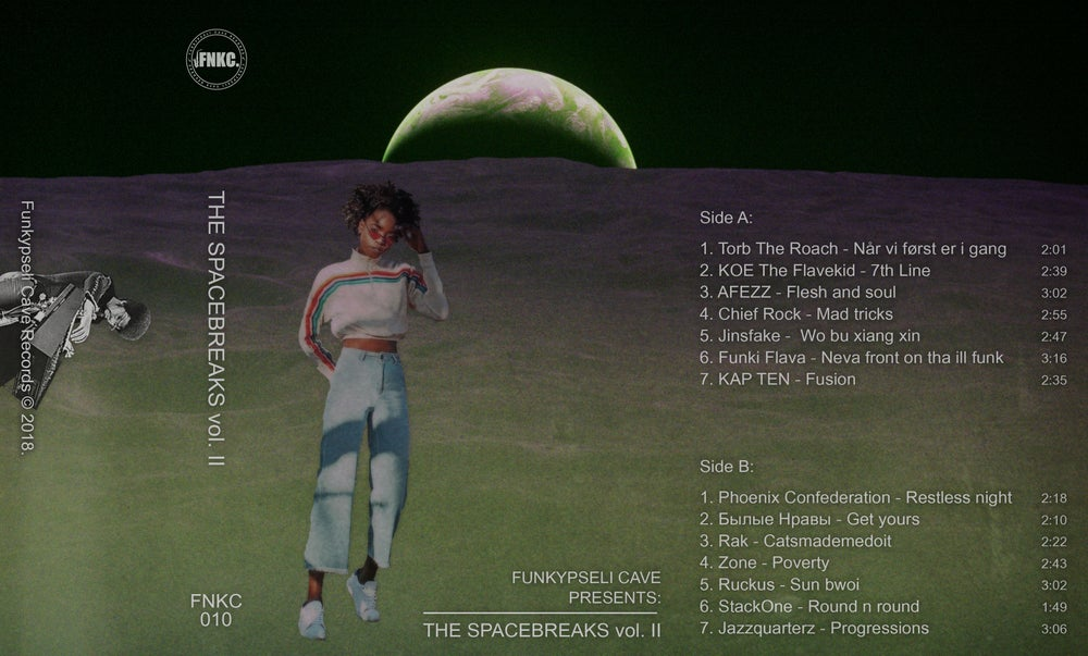 Funkypseli Cave presents: The Spacebreaks vol. II (Cassette)
