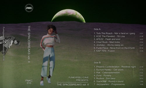 Image of Funkypseli Cave presents: The Spacebreaks vol. II (Cassette)