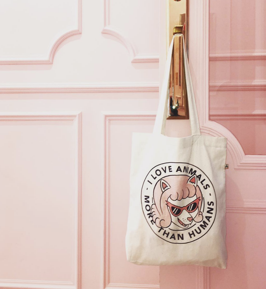 Image of tote bag animals